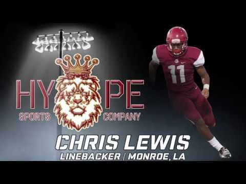 Chris Lewis Football Highlights   Linebacker   Ouachita High School (LA)