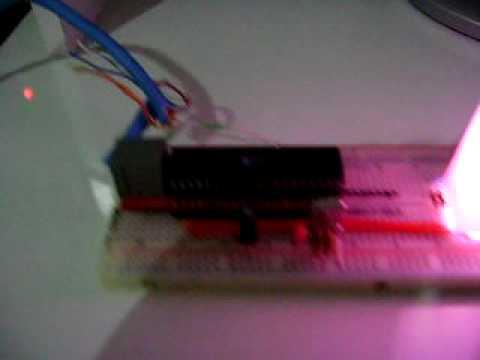 LED RGB Controle - AT89S52 ATMEL