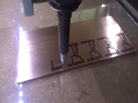 PCB para ESP8266 com CNC