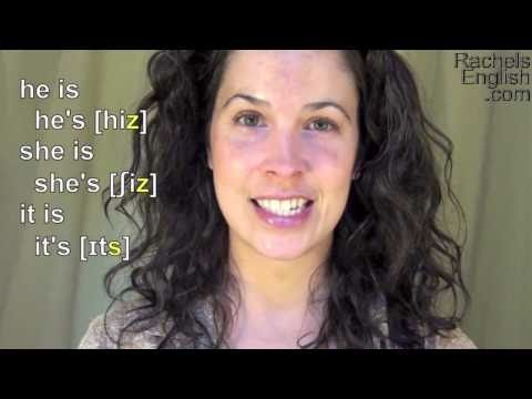 American English - How to Pronounce Contractions