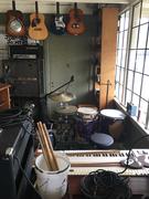 John Lowe's practice space 1