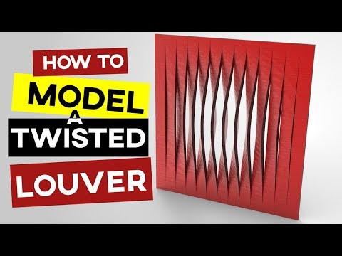 Grasshopper Tutorial (Parametric Louver)