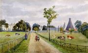 Hermitage Lane looking towards Green Lanes June 1883