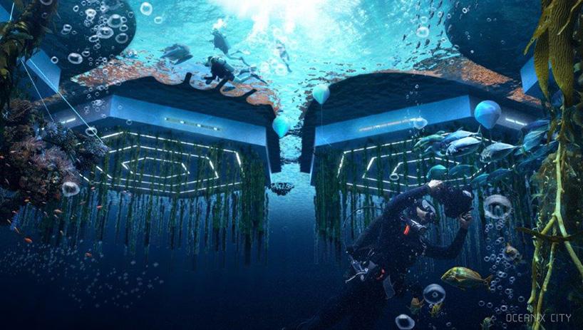 ოკეანის ქალაქი, მოტივტივე ქალაქი, ქალაქი ტივტივა, ზღვა, ოკეანე, აქიტექტურა, დიზაინი, მომავალი, qwelly