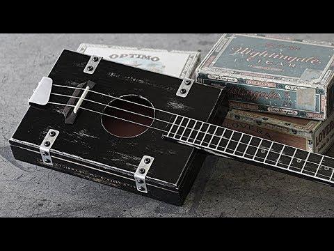 Old Time 1920's Cigar Box Guitar Blues Slide Guitar