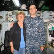 Betsy, mom of Stennis sailor