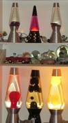 Changed up my display to use my Heritage Collection lamps