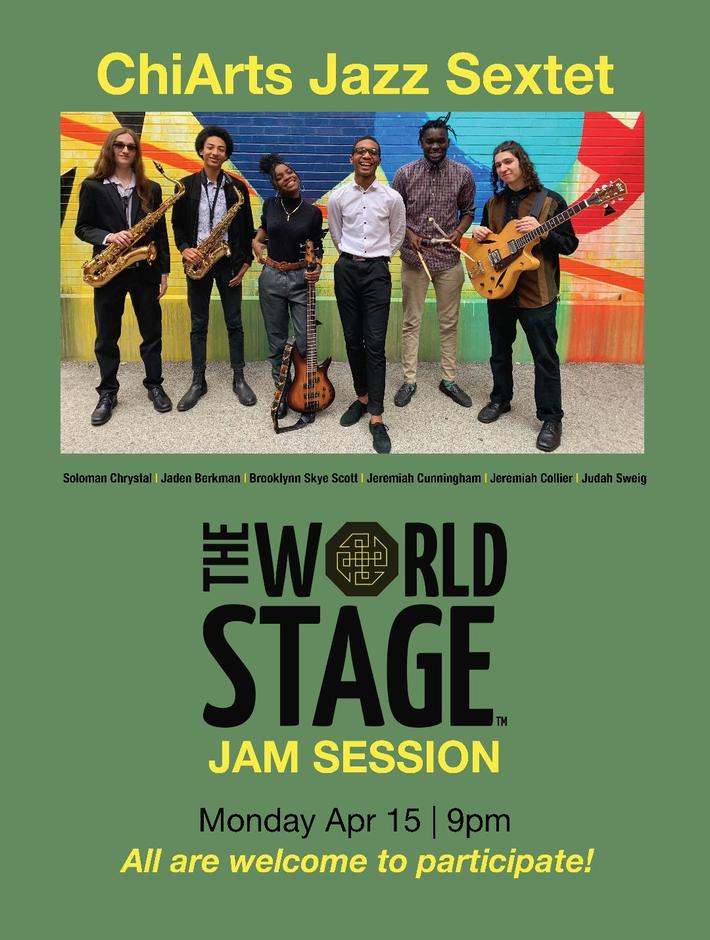 ChiArts Jazz Sextet Jam Session [TONIGHT]