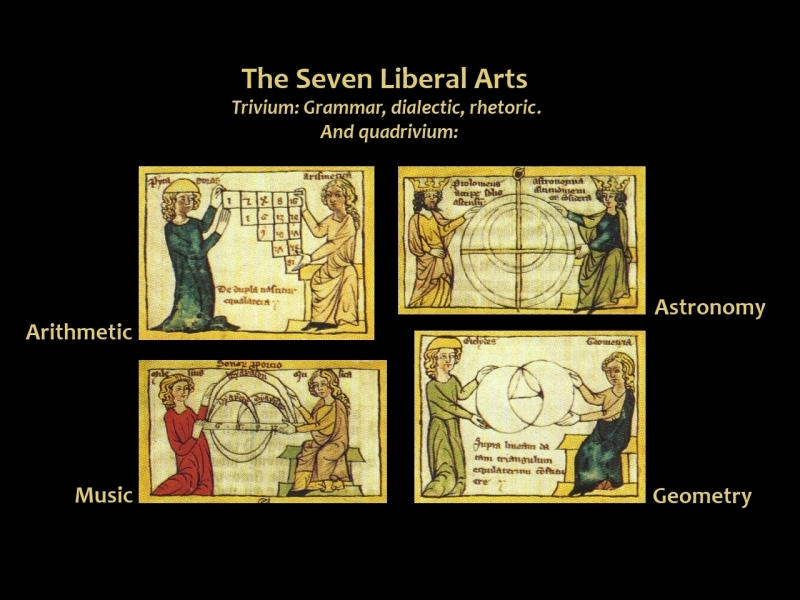 Artes Liberales - the seven liberal arts