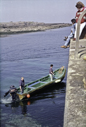 Getting on the Boat in Doolin