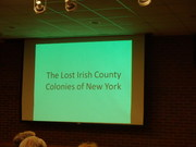 John Ridge Presents on 'Lost Irish Colonies of New York
