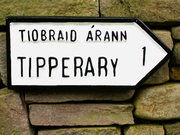 Ireland - Tipperary Road Sign