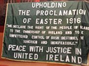Ireland banner UPHOLDING THE PROCLAMATION