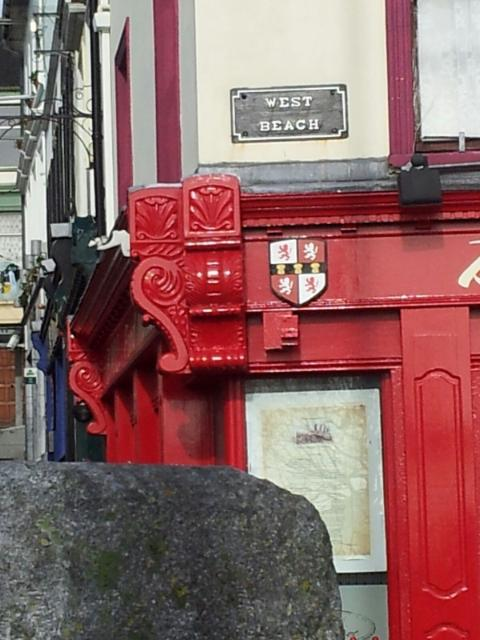 Cobh red storefront
