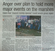 Marshes events Gazette 7 March 2013