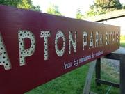 New sign for Clapton park Estate