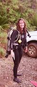 Suited up for inaugural scuba lesson, Kauai