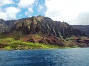 NaPali Coast, Kauai, honeymoon July 2009