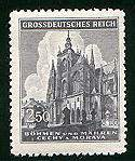 Czech stamp during German occupation