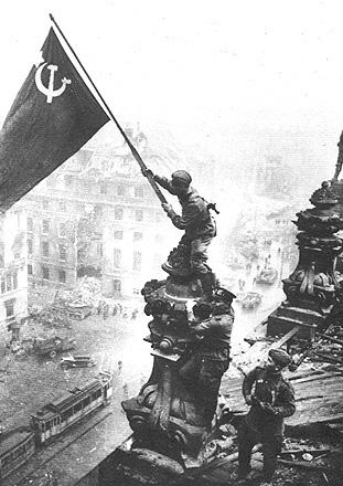 Prague during liberation