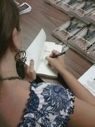 Rosa at her book signing