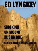 Smoking on Mount Rushmore