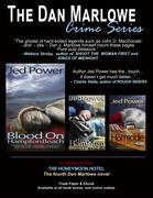 Suspense Magazine, Crimelandia Program, Love is Murder Program, etc. Ad