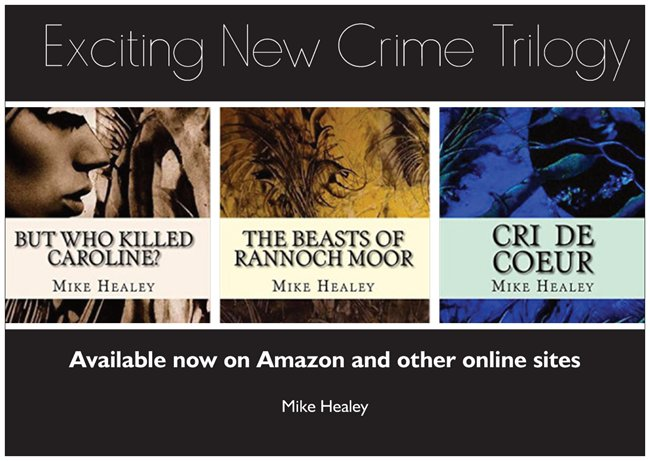 New crime fiction from Mike Healey