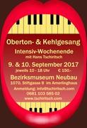 Oberton-und Kehlgesang - Intensiv-Wochenende