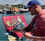 Dave West workshop in oil paint
