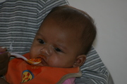 First feeding of life!