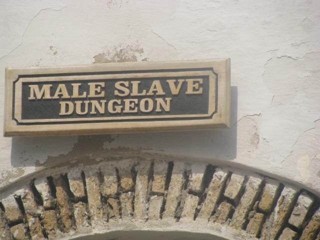The Point of No Return, Elmina Slave Dungeon!