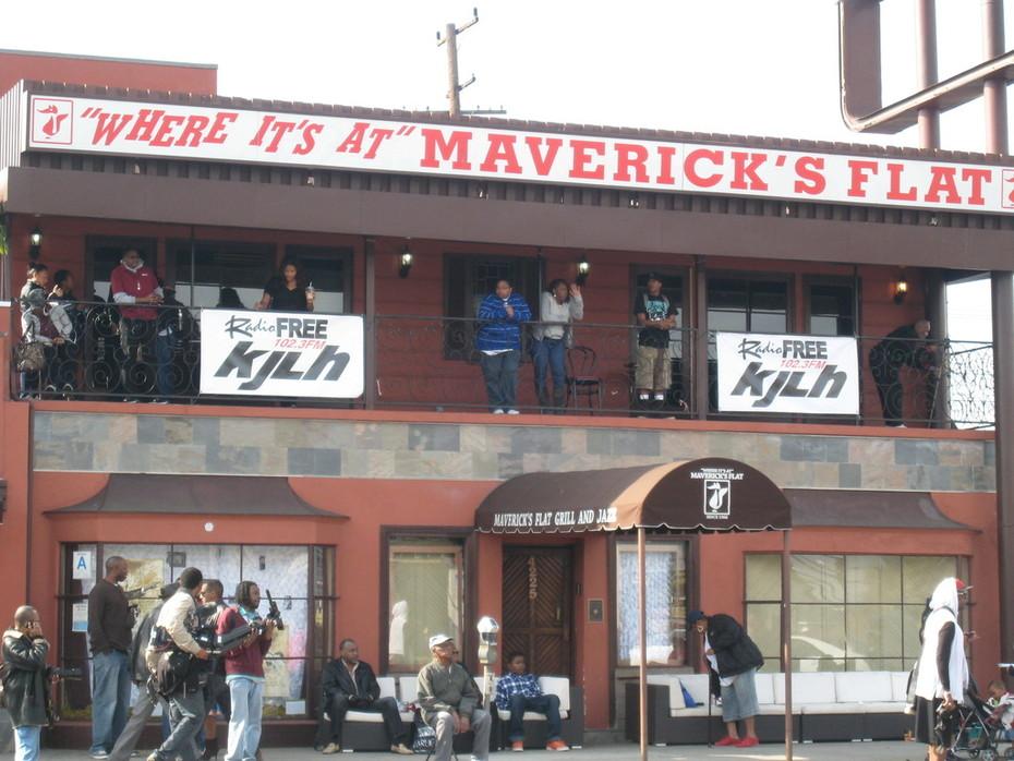 Maverick's Flat during MLK Kingdom Day Parade 2012 in Los Angeles/Leimert Park