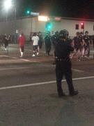 Police on Crenshaw