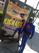 KICK-ASS R-Rated don't take the Kids