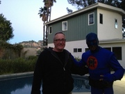 DangerMan on Set with Hollywood Producer John Hopgood