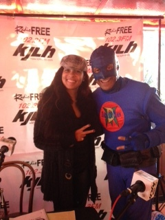 Adai Lamar KJLH & DangerMan Toy Drive