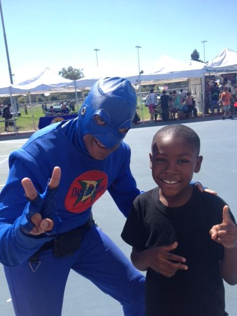 LA's only Urban Superhero DangerMan