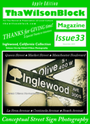 """ThaWilsonBlock Magazine Issue33 """"Thanks for Giving Time!"""""""