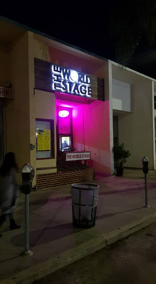 """The 'new' World STAGE """"Best South L.A. Jazz Club"""" - Best of LA Weekly '17"""