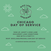BLU Day Of Service - Adopt a bike lane