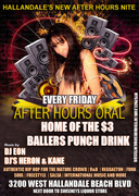 """""""AFTER HOURS ORAL""""AUTHENTIC OLD SCHOOL HIP HOP"""