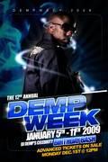 THE 12th ANNUAL DEMP WEEK (Dj DEMP Birthday Bash)