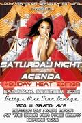 SATURDAY NIGHT AGENDA: HOLIDAY HEAT EDITION