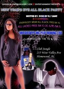 NEW YEAR'S EVE ALL BLACK PARTY