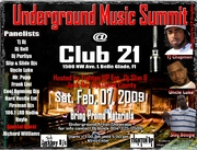 Underground MUSIC SUMMIT Feb. 7th