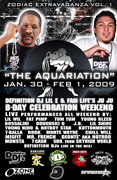 The Aquarination Bday Bash (3 Day Party)