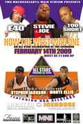 NBA ALL STAR WEEKEND PARTY  SAT FEB 14TH @ THE ICE HOUSE AZ E-40,TOO SHORT,STEVIE JOE,GARY PAYTON,GOLDEN STATE WARRIORS STEPHEN JACKSON ,MONTA ELLIS