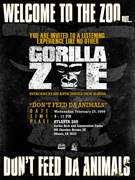 "GORILLA ZOE ""Don't Feed The Animals"" LP Listening Party"