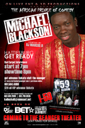 THE AFRICAN KING OF COMEDY MICHAEL BLACKSON(SAENGER THEATRE HATTIESBURG,MS APRIL 9TH
